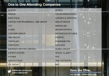 AIM Italia Conference London - One to One List-1